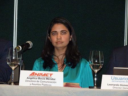 Angélica Bucio Méndez, directora de Comunicación y Asuntos Públicos de ANPACT