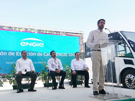 ENGIE pone en marcha primera estación de gas natural